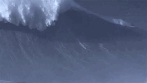 We're In Awe Of This Footage Of The World's Biggest Wave
