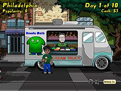 Ice Cream Truck Game - Play online at Y8