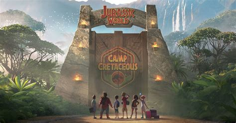 Netflix's Jurassic World animated series drops a group of