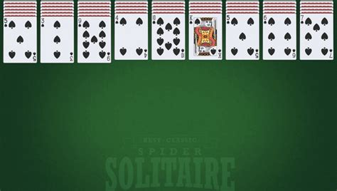 Best Classic Spider Solitaire   🕹️ Play Best Classic