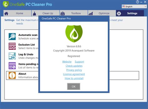 OneSafe PC Cleaner Pro 7