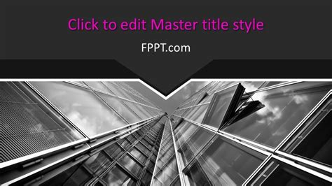 Free Architecture PowerPoint Template - Free PowerPoint