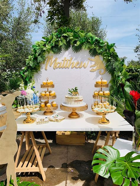 Glam Jungle Baby Shower - Baby Shower Ideas - Themes - Games