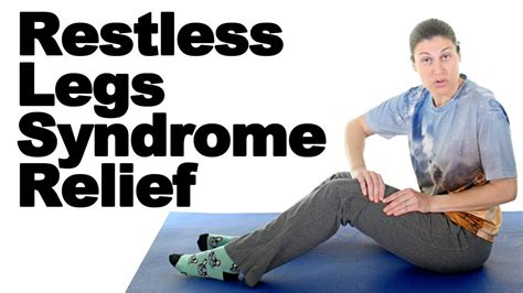 Restless legs syndrome (RLS) causes uncomfortable or