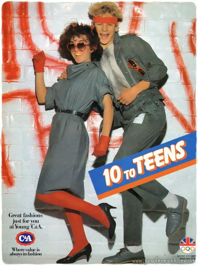 """C&A ~ Childrenswear Adverts [1984-1986] """"Young C&A"""