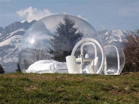 Crystal Bubble Portable Home • TheCoolist - The Modern