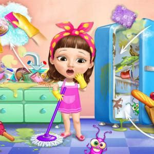 Sweet Baby Girl Cleanup Messy House - Play Sweet Baby Girl
