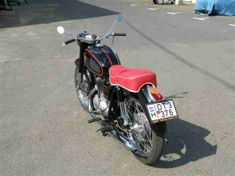 Pannonia tlf 250 deluxe - frame/engine number tl5/11 0007