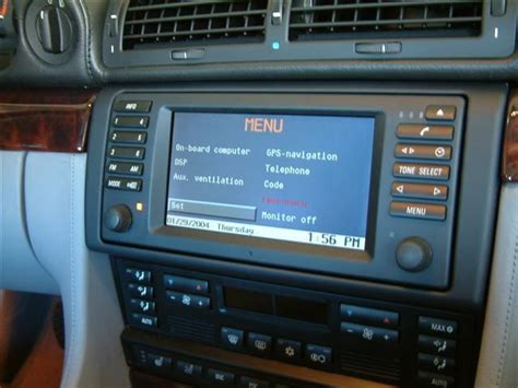 Information on the History of Older BMW Navigation Systems