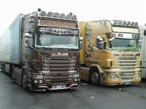 Scania R730 Black Amber Tuning By Team Marra And Team