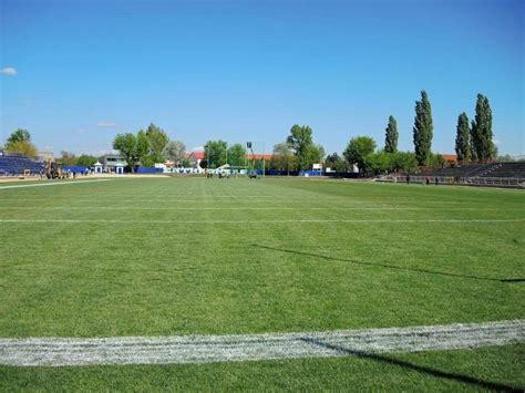 Hungary's first standard-sized American football field