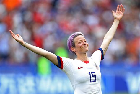 Megan Rapinoe's Community Welcomed Her With 'Outreached