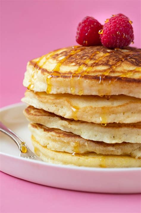 Fluffy American Pancakes - A Blend of Recipes