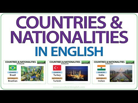 countries nationalities, flags,capital cities and famous
