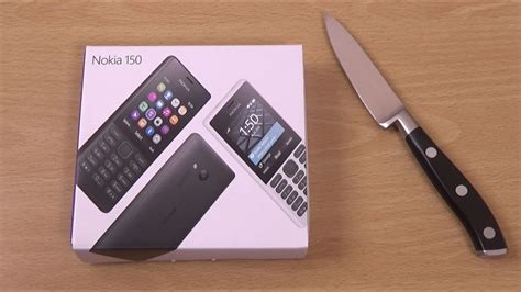 Nokia 150 - Unboxing & First look! - YouTube