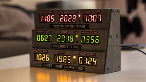 [Project] Turn Back Time with a 3D Printed Delorean Clock