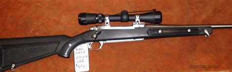 Ruger, 77, Mark II, All Weather Rifle,