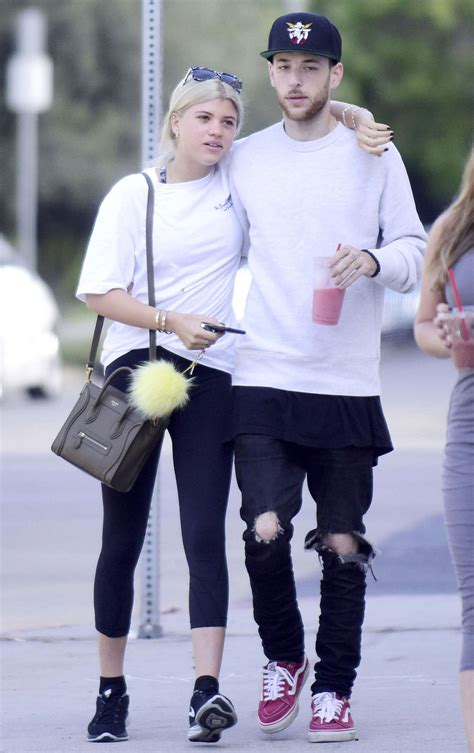 SOFIA RICHIE Out with New Boyfriend in West Hollywood