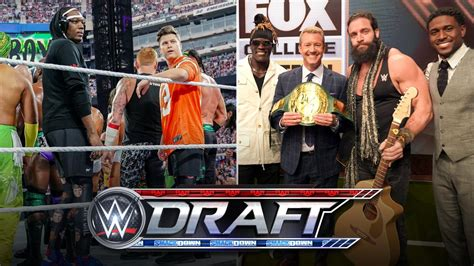 WWE Announces Draft Rules and Celebrity Appearances – TPWW