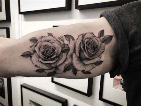 The History and Meaning of the Rose Tattoo - Chronic Ink
