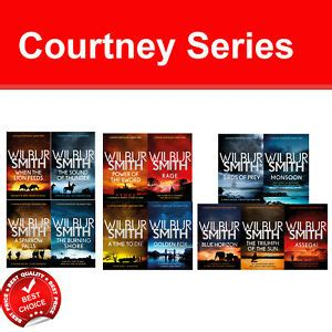 The Courtney Series 1-13 Wilbur Smith collection books set